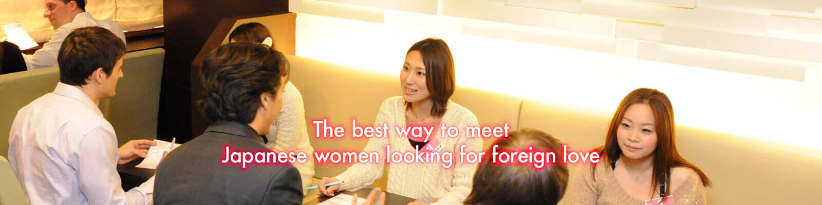 Internationale speed dating Tokyo