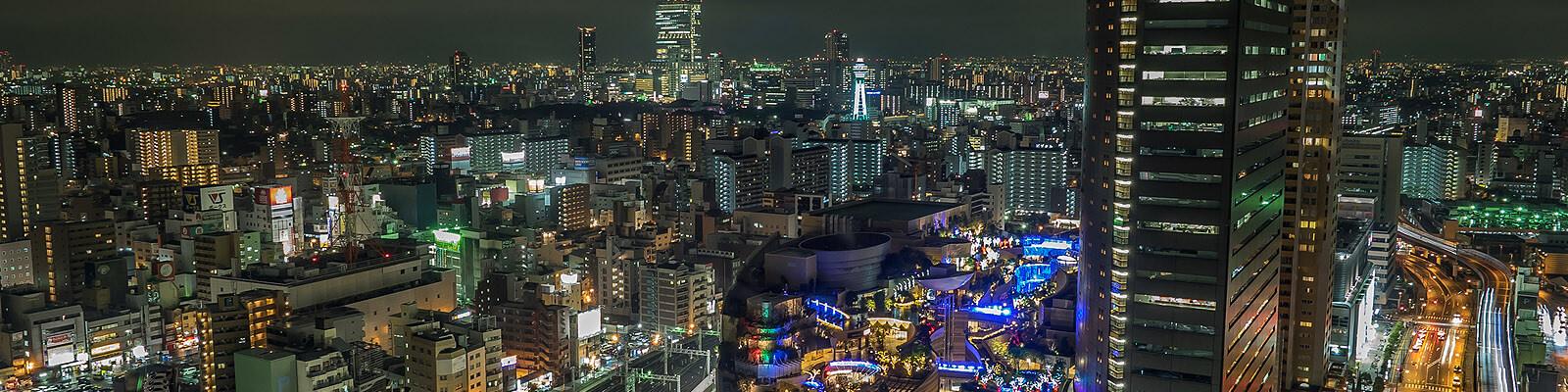 パーティー後のデートスポット~大阪なんば会場編~